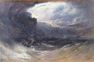 John Martin - The Deluge (1834)