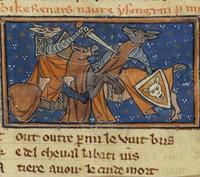 Reynaert bevecht Isengrim