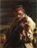 De violist Hans Inders (Anders Zorn, 1904)