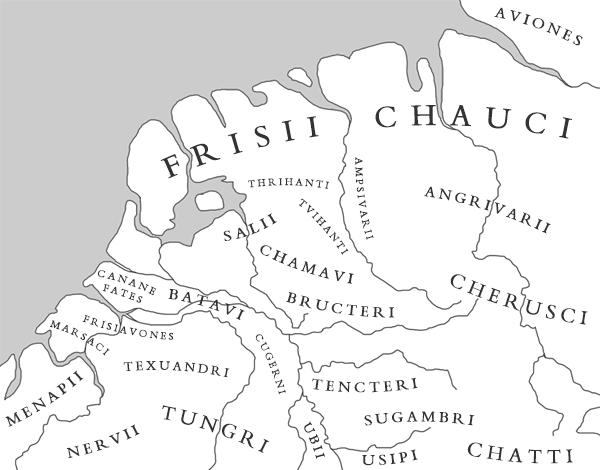 Germaanse stammen in de Lage Landen in de tweede eeuw na Christus